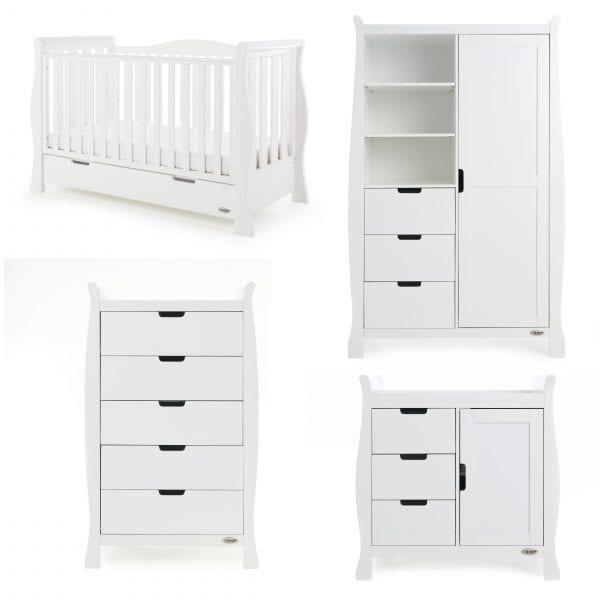 Stamford Luxe 4 Piece Set - White