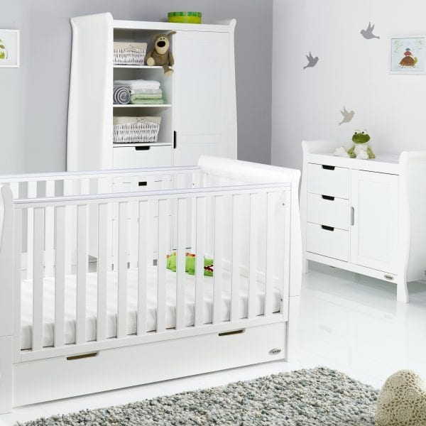 Obaby Stamford White Nursery Set